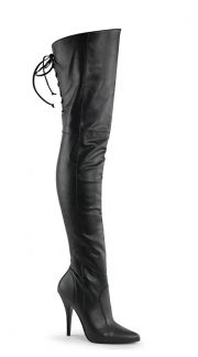 Women's Thigh High Boots, Thigh Boots, Leather Thigh High Boots