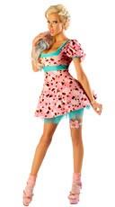 Plush Cupcake Girl Plush Costume