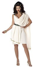 Womens Deluxe Toga Costume