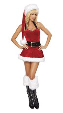 Mini Ms. Claus Dress