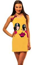Ms. Pac Man Tank Dress