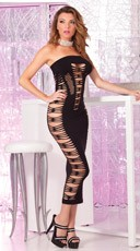Big Spender Seamless Long Tube Dress