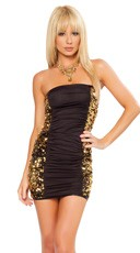 Sequin Slinky Tube Dress