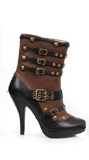 "4"" Steam Punk Bootie"