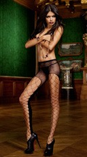 Sheer Mesh Fishnet Pantyhose