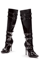Buckle Me Tight Knee High Boots