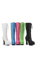 """5"""" Shimmer Lace Up Boot"""