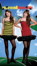 Teen Bee & Ladybug Reversible Costume