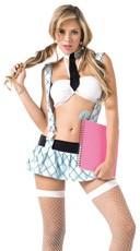 Teach Me Love School Girl Costume
