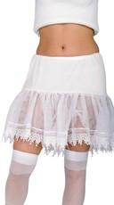 White Hem Petticoat