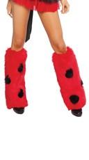 Lady Bug Legwarmers