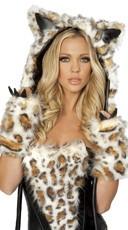 Frisky Leopard Hood