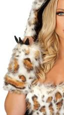 Frisky Leopard Gloves