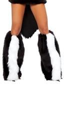 Skunk Legwarmers
