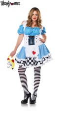 Plus Size Alice in Wonderland Costume