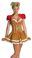 Ginger Girl Costume