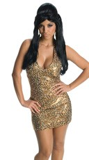 Gold Snooki Costume Dress