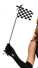 Racer Mini Checkered Flag