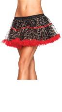 Leopard Print Petticoat