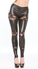 Leggings, Short Leggings, Black Leggings, Stretch Pants