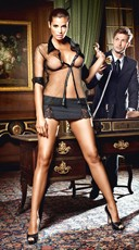 Black Secretary Lingerie Costume