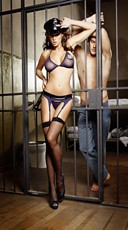 Night Patrol Cop Lingerie Set