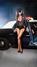 Sheer Sexy Cop Costume