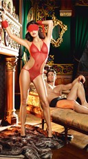 Dangerous Love Red Lingerie Set