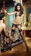 Plus Size Zip-Up Love Slave Set