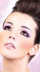 Black and Purple Deluxe Eyelashes