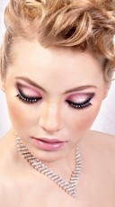 Black and White Sexy Rhinestone Fake Eyelashes