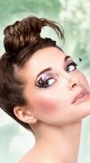 Elegant Black Feather Eyelashes