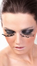 Black Triangle Feather Eyelashes