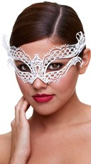 Winged Filigree Eye Mask