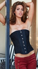 Essential Satin and Lace Corset