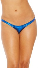 Metallic Scrunch Back Panty