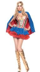 Plus Size Sexy Hero Girl Costume