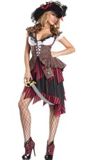 Hot Hooligan Pirate Costume