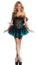 Sexy Peacock Princess Costume