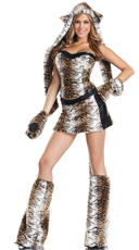 Lusty Tiger Costume