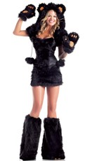 Black Bear Beauty Costume