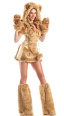 Golden Bear Beauty Costume