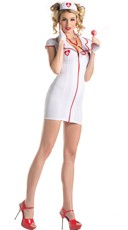 Plus Size Sweetheart Nurse Costume
