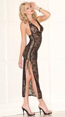 Lace Beauty Lingerie Gown