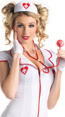 Nurse Hat And Stethoscope