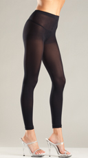 Sexy Opaque Footless Tights