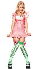 Strawberry Cake Sweetie Costume