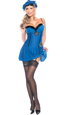Little Miss Naughty Cop Costume