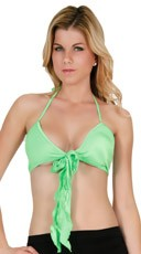 Bow Front Halter Top