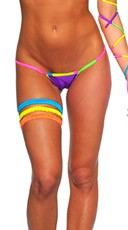 Neon Lowback G-String Panty